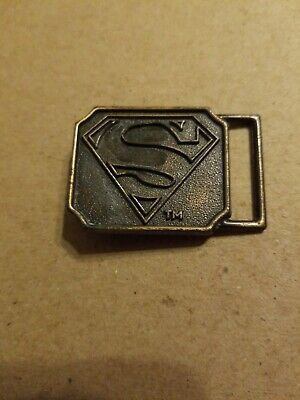 Superman 1970 1980 Lee Belt Buckle Vintage Emblem - Buckle Only