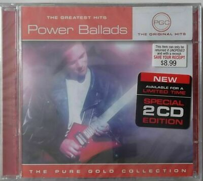 POWER BALLADS - Greatest Hits Various Artists - New Sealed 2 CD Gift Quality