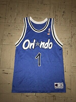 low priced 2720f 4b93a VINTAGE ORLANDO MAGIC Penny Hardaway Jersey Size 40 Black ...