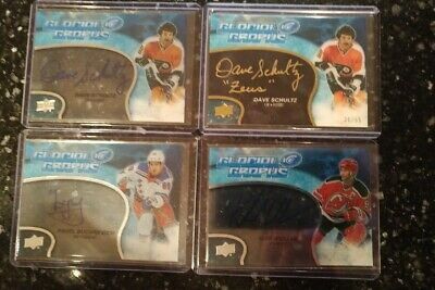 2018-19 UD ICE Glacial Graphs Autographed Cards - You Pick from List GG-XX