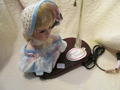 Vintage Victoria Doll (New) Magical Moments Lamp Bone China Bust Night Light!!!