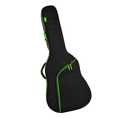 Green Padded Guitar Carrying Case Gig Bag for 41 inch Acoustic Guitar