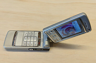 Nokia 6260 (RM-25) Vintage Rotary Screen Mobile Phone w/ Earphone and Charger