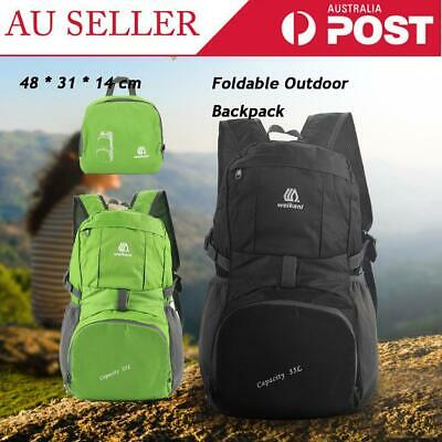 Lightweight Foldable Waterproof Outdoor Sports Backpack Camping Travel Bag