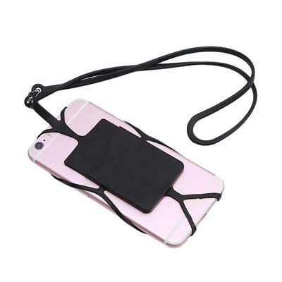 Silicone Case Phone Holder With Detachable Lanyard Strap JA