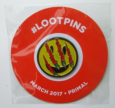 *NEW* Loot Crate March 2017 Primal Loot Pin