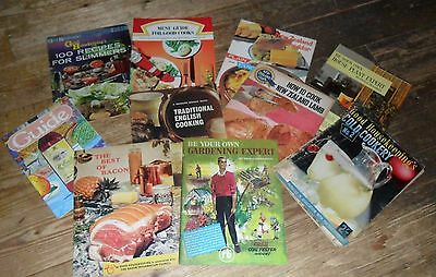 Selection of old magazine supplements, 1950s and 1960s