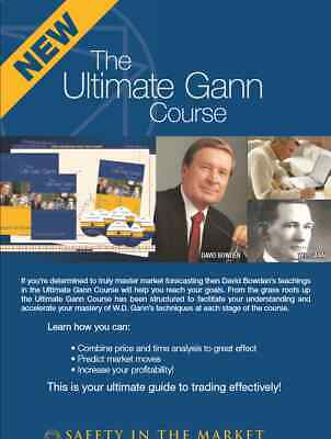 Ultimate Gann Course By David Bowden (Trading Video Courses) -Videos & Workbook-