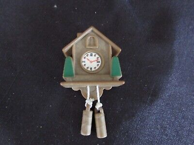 Sylvanian Families  - Vintage Spares - Home Sweet Home Cuckoo Clock - S685*