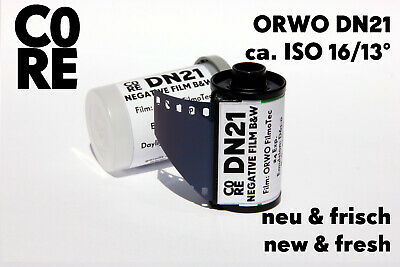 ORWO DN21 Film • ISO 16/13° • 35mm • NEW & FRESH FILM b/w Black & White Negativ