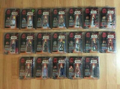 New Star Wars: Episode 1: The Phantom Menace Action Figures 1999 Collection 2