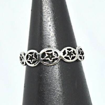 Toe Rings Sterling Silver Celtic Knot Design Adjustable Toe Ring~wicca~pagan~jewellery #1