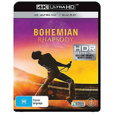 Bohemian Rhapsody (Blu-ray, 2019, 2-Disc Set)