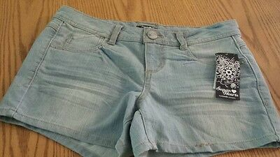 ebe83e31ac NWT Juniors Size 9 Denim Shorts by Sequin Hearts my Michelle company