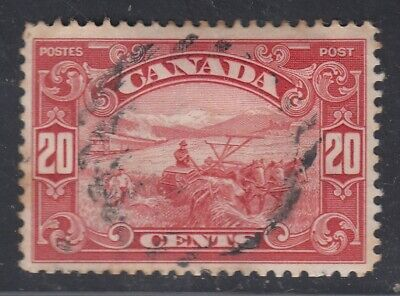 "Canada Scott #157 20 cent Harvesting Wheat ""Scroll""  F"