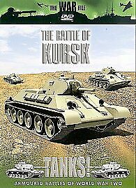 The War File - Tanks!: The Battle of Kursk DVD (2004) Bob Carruthers NEW SEALED