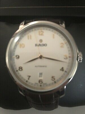 ac1a76332 Rado Diamaster XL Automatic White Dial Mens Watch Rrp £1479 New Boxed &  Papers
