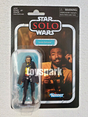 """Star Wars Solo 3.75"""" inch The Vintage Collection VC139 LANDO CALRISSIAN figure"""