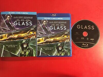 Glass (Blu-Ray, 2019) USED VGC BLU RAY ONLY L@@K