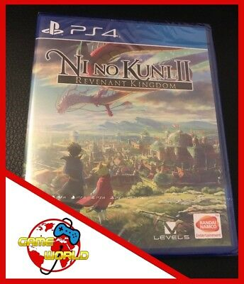 NI NO KUNI II 2 - gioco PS4 Playstation 4 - ITALIANO - Nuovo