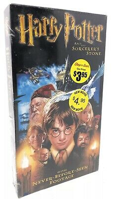 Harry Potter and the Sorcerers Stone SEALED VHS Video Cassette Movie NEW