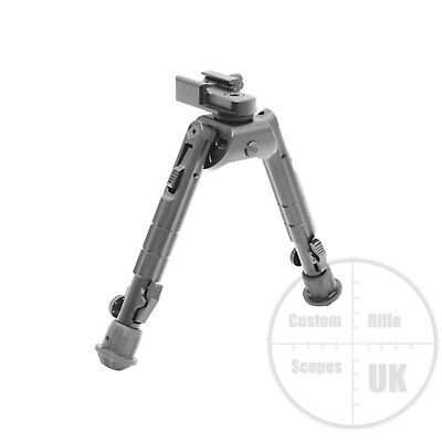 "UTG Heavy Duty Recon 360 Bipod, Cent Ht: 6.69""-9.12"""