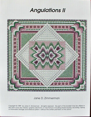 Jane Zimmerman Angulations II Counted Needlepoint Chart/Pattern