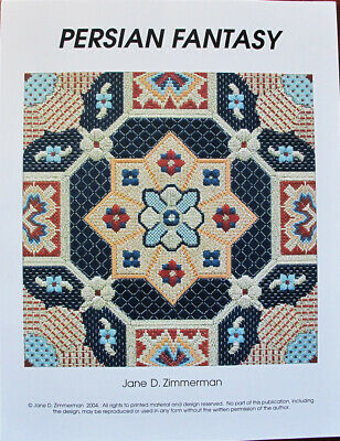 Jane Zimmerman Persian Fantasy Counted Needlepoint Chart/Pattern
