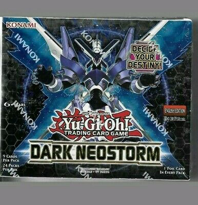 Yugioh Dark Neostorm Booster Box 1st Edition! FACTORY SEALED!!!