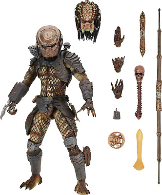"""Predator 2 Movie Ultimate City Hunter 7"""" Scale Action Figure from NECA Toys NEW"""