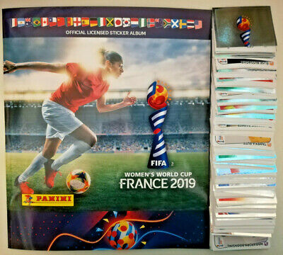 Panini Fifa Womens World Cup 2019 France Complete 480 Stickers + Official Album