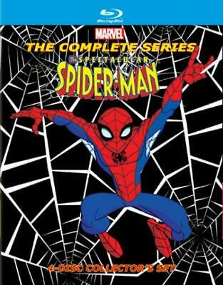 The Spectacular Spider-Man: The Complete Series (DVD,2014)
