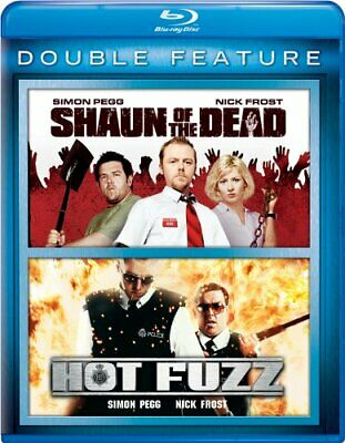 Universal Shaun Of The Dead/hot Fuzz 2pk [blu Ray/double Feature/2discs]