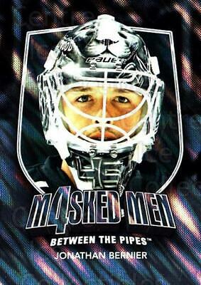 2011-12 Between The Pipes Masked Men 4 Silver #6 Jonathan Bernier