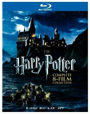 Harry Potter: Complete 8-Film Collection (DVD,2011)