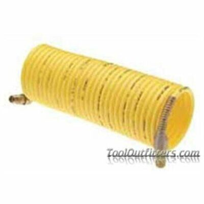 "Amflo 4-25-RET Standard Recoil Hose, 1/4"" X 25', Yellow, Display Pack (425ret)"