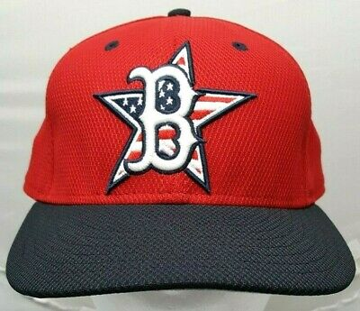 online store 177c6 936a5 Boston Red Sox MLB New Era 59Fifty Stars and Stripes fitted cap hat