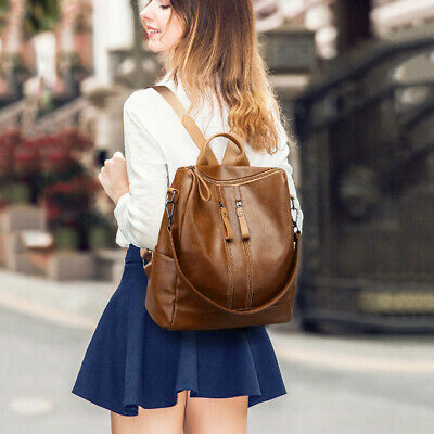 1PC Backpack Casual Anti-theft Lightweight Multi-function Shoulder Bag for Girls