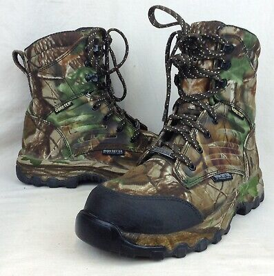 7083b0cebcd4f Brahma Hunter Camo Lace Waterproof Hunting Boots Mens Size 8.