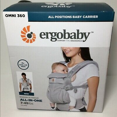 ERGOBABY 360 OMNI COOL AIR MESH Multi-Position Ergo Baby Carrier 5 COLORS