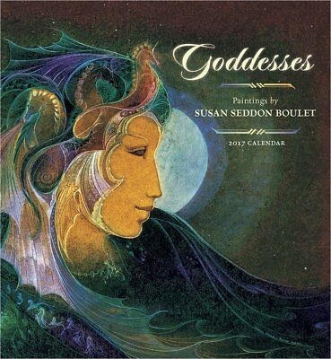 Goddesses: Paintings by Susan Seddon Boulet 2017 Wall Calendar - Out of Print