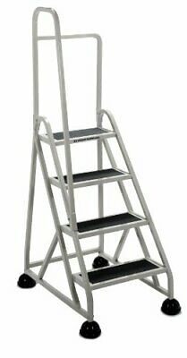 "Cramer Stop Step 1041l Step Ladder - 4 Step - 300 Lb Load Capacity - 24.6"" X"