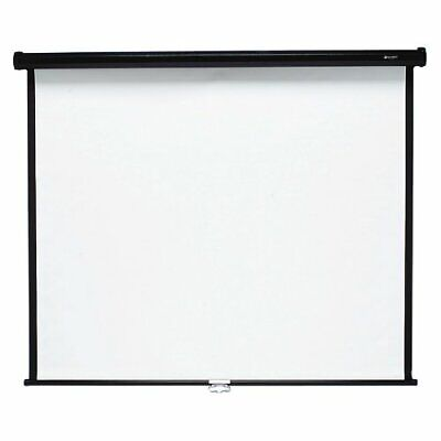 """Quartet Wall/ceiling Projection Screen - 70"""" X 70"""" - Matte White (670S)"""