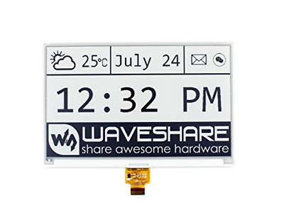 Waveshare 4.2inch e-Paper Raw Panel Protection Case WS16116