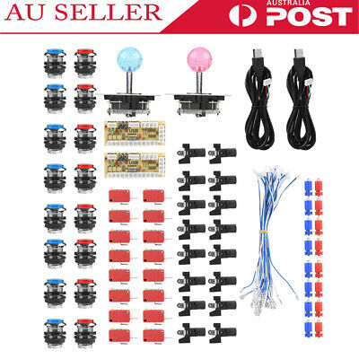 Accessories For Arcade Zero Delay Encoder DIY Set Kit Game USB Cable LED Button
