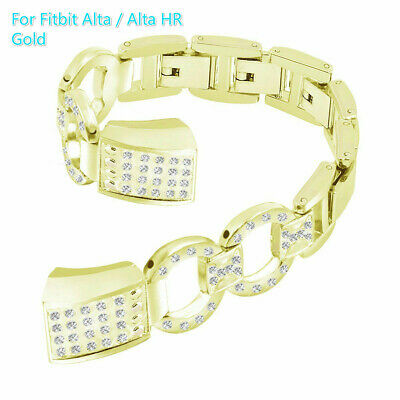 Bracelet Wristband Replacement Steel Band Metal Strap For Fitbit Alta / Alta HR