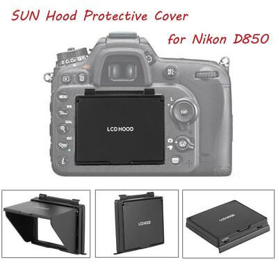 Camera LCD Monitor Screen Folding Hood Sun Shade Protective Cover for Nikon D850