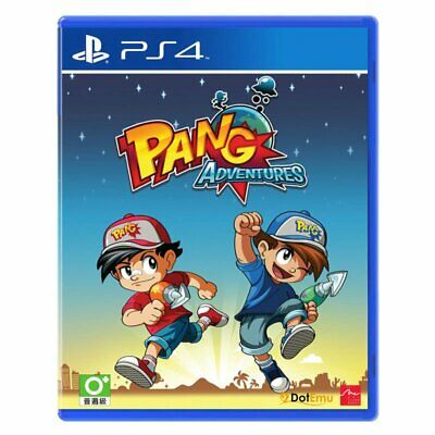 Playstation 4 PS4 Pang Adventures Limited Run #47 Brand New Sealed