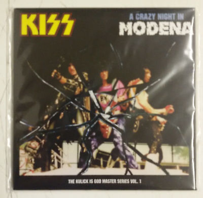Kiss A Crazy Night In Modena CD Monsters Of Rock Modena 1988