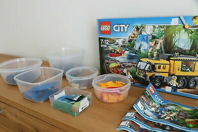Lego 60160 - City - Mobiles Dschungel-Labor | Retired | Used